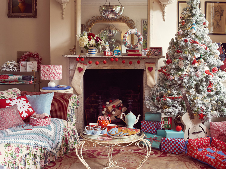 Homemaker Christmas shoot